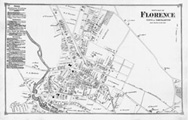 Map of Florence, 1873