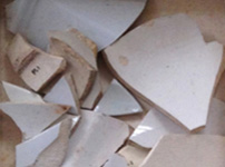 Ceramic shards, Damon Excavation, 1985